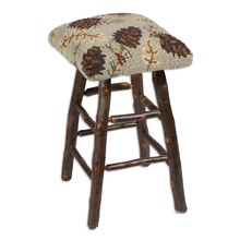 More about the 'Northwoods Cones Hickory Barstool' product