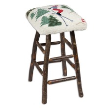 More about the 'Skier Hickory Barstool' product