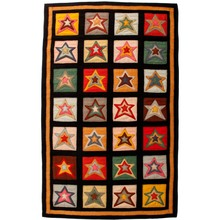 More about the 'Star Patch Sampler Rug' product