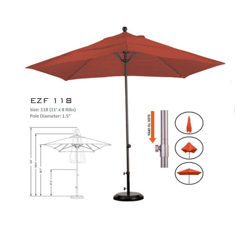 11u0027 Patio Umbrella