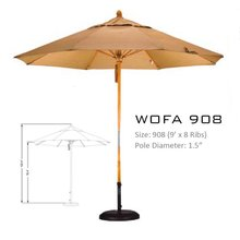 California Umbrella -WOFA908