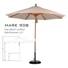 California Umbrella -MARE 908