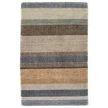 Birchwood Stripe Hand Knotted Wool Rug