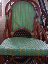 More about the 'Montmartre Rattan Chair Mint/Yellow/Beige Shiney' product