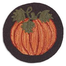 "More about the 'Set of 2 Harvest Pumpkin 14"" Chairpads' product"