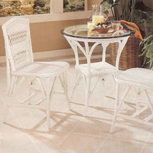 Wicker Bistro Dining 4-Piece Set