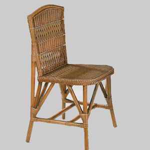 Wicker Bistro Side Chair