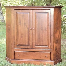 More about the 'Southern Pine Corner TV Cabinet' product