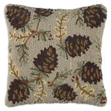 More about the 'Northwoods Cone Hooked Pillow by Chandler 4 Corners' product
