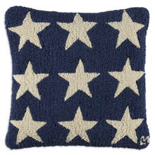 Blue Firestars Pillow