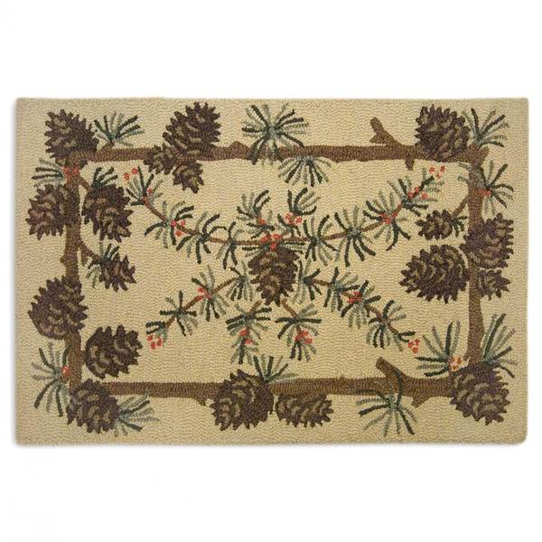 Needles and Cones Rug