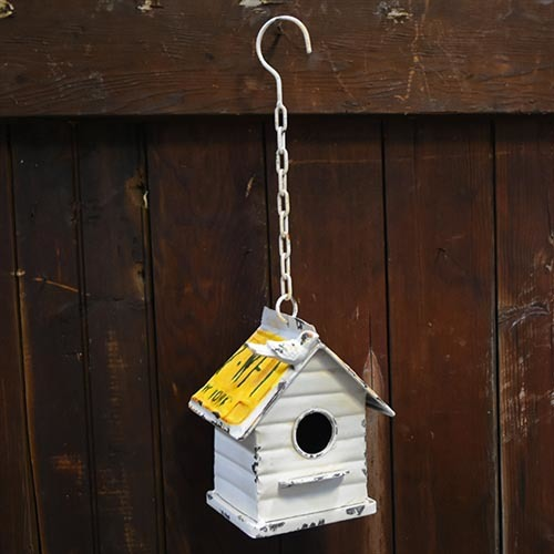 One cabin bird house