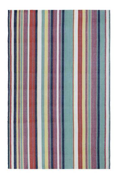 Canopy Stripe Indoor Outdoor Rug by Company C