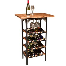 Reclaimed Wine Tasting Table