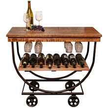 Reclaimed Wine Cart