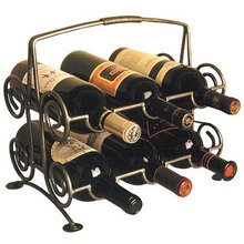 Six Bottle Cellar Master's Wine Rack
