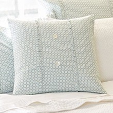 Charleston aqua porch pillow