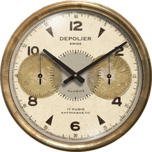 Chronograph Cream Clock 23