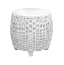 More about the 'Clarissa Wicker End Table' product