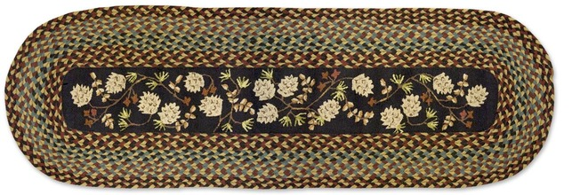 Pinecones and Berries Wool Runner