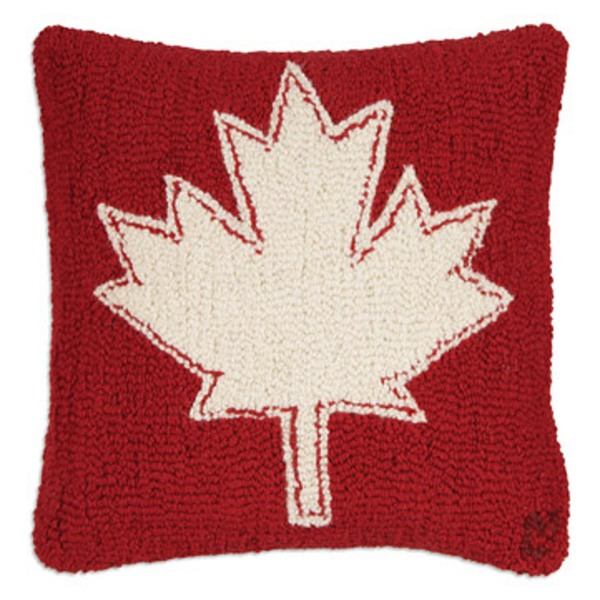 Maple Leaf Canadian Pillow