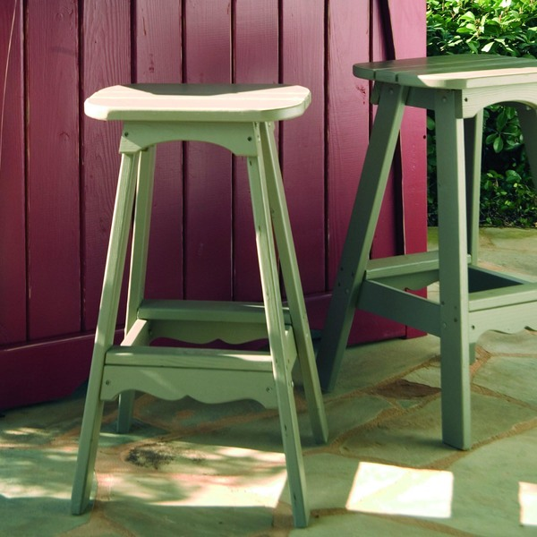 Companion Collection Outdoor Bar Stool