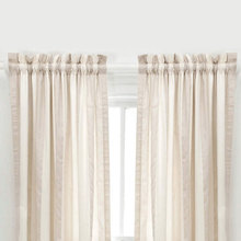 Madeline Stripe Window Panel (SET of 2) CLEARANCE