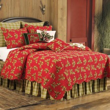 Holly Red Quilt