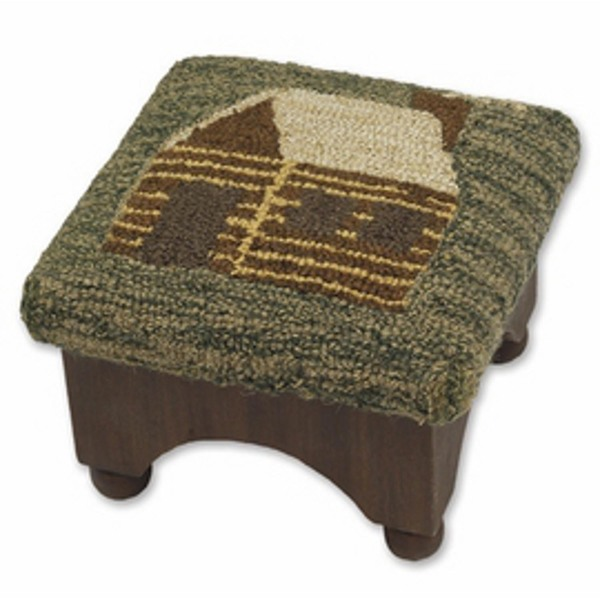 Cabin Footstool American Country