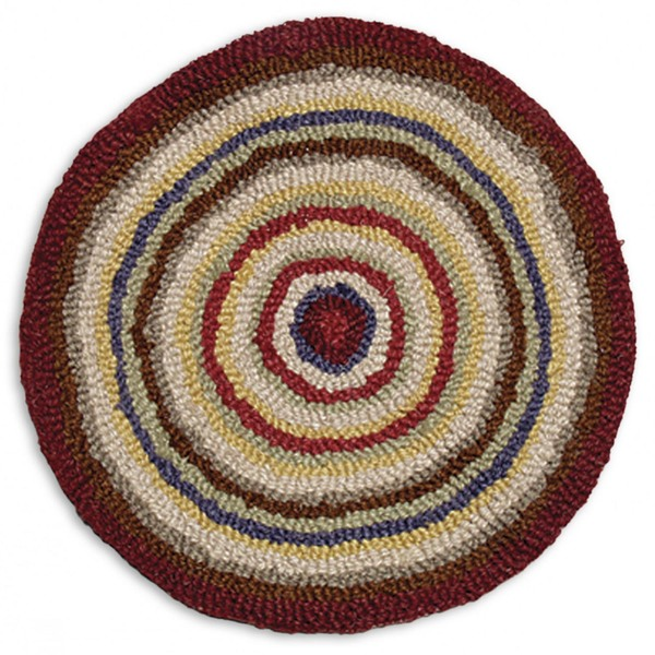 "SET of 2 Circle 14"" Chairpads"