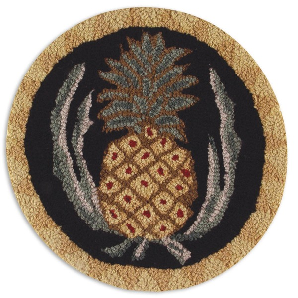 "SET of 2 Pineapple 14"" Chairpads"