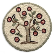 "More about the 'SET of 2 Tree of Life 14"" Chairpads' product"