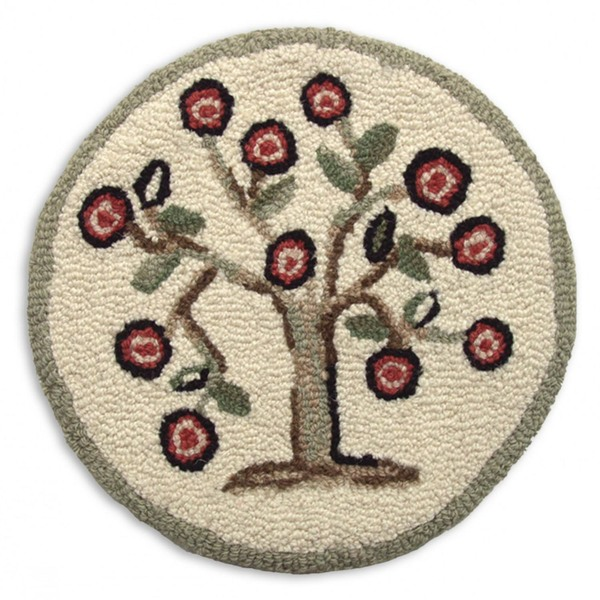 "SET of 2 Tree of Life 14"" Chairpads"