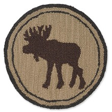 "More about the 'SET of 2 Great Moose 14"" Chairpads' product"