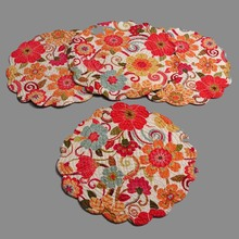 Giselle Round Placemat/Set of 4