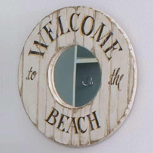 Welcome to the Beach Mirror