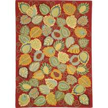 More about the 'Foliage Hooked Wool Rug by Company C' product