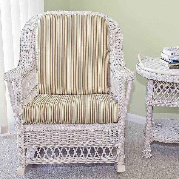 Harbor Front Wicker Rocker