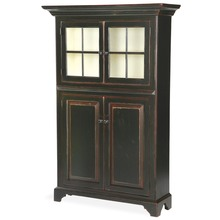 Hampton Display Cabinet with Glass Doors & Storage