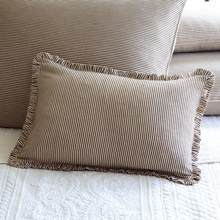 French Country Stripe Boudoir Pillow