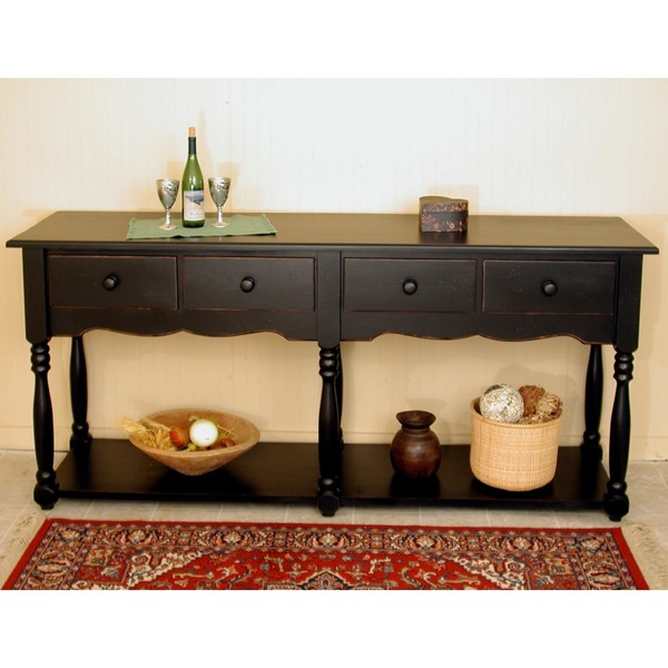 Southern Pine French Farmhouse Sideboard American Country