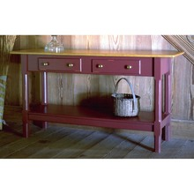 Southern Pine Hampden Sofa Table