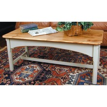 Southern Pine Shaker Rectangular Coffee Table