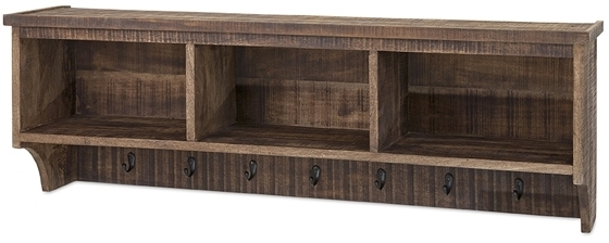 Ebba Cubby Wall Shelf American Country