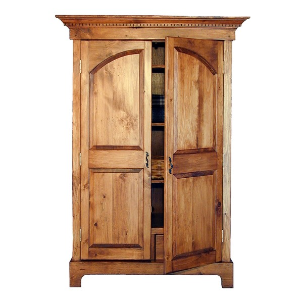 Southern Pine Colonial Armoire