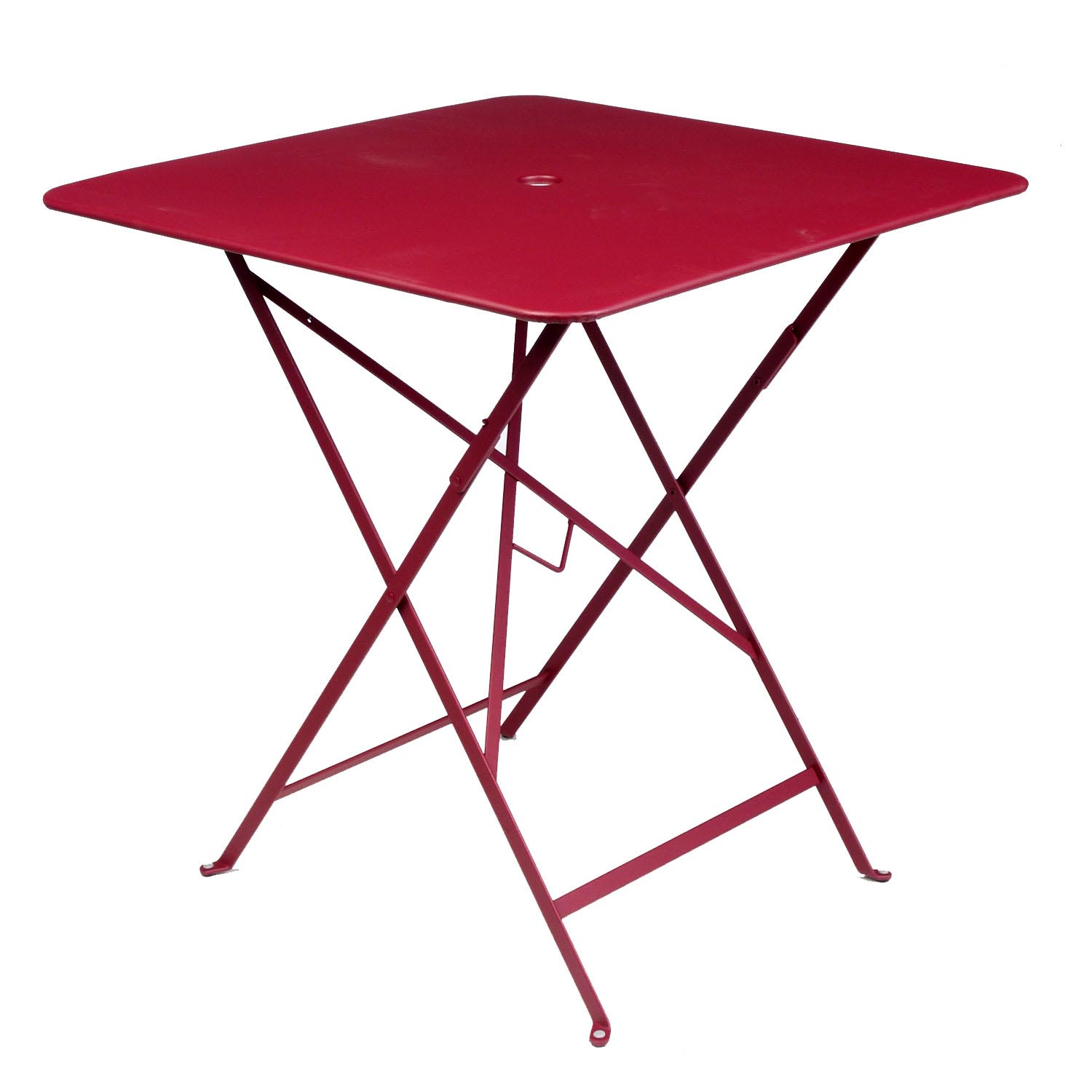 Fermob Metal Bistro 28 Inch Square Folding Table