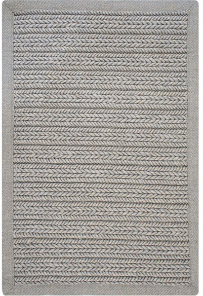 Elliott Grey Ultra Durable Braided Rug