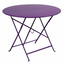 "Fermob Folding Bistro Table 38"" Round in Aubergine"