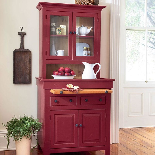Southern Pine Small Conestoga Cupboard American Country
