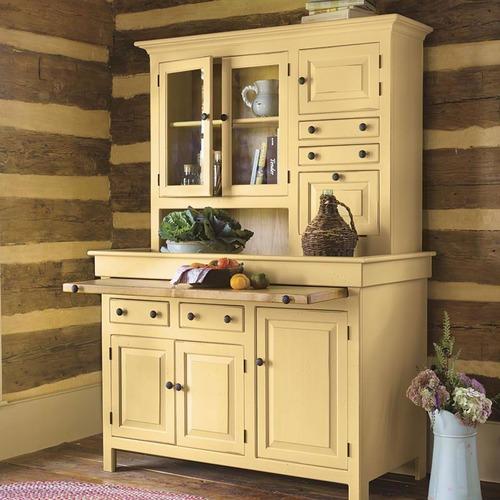 Southern Pine Hoosier Cupboard | American Country